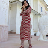 buy cotton kurta set for women online at best prices