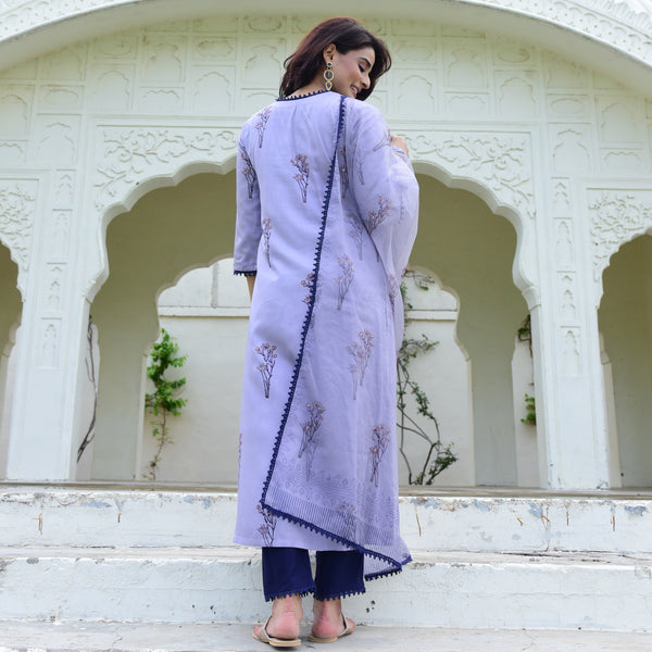 shop lavender suit set online at best prices