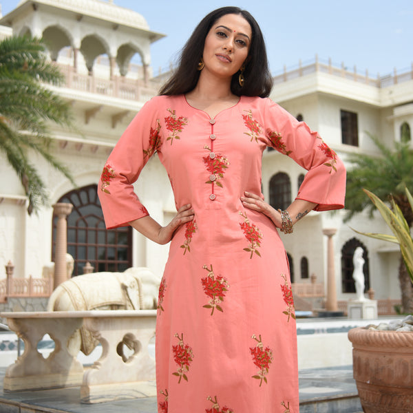 floral kurta for women at best prices
