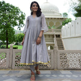 buy grey kurta foe women,best grey kurta online