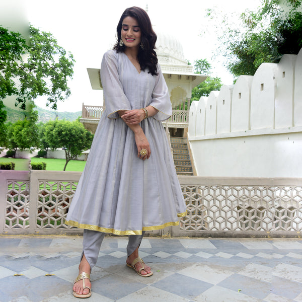 buy best quality grey kurta online ,buy grey kurta for women