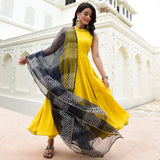 yellow color cotton suit for women,buy yellow suit online