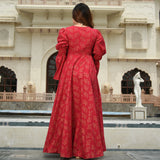 morrocan red cotton dress