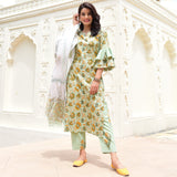 Butta Jaal Cotton Suit Set