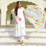 get amazing quality white suit online for women