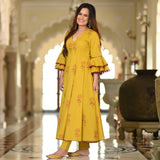 Golden Sunshine Cotton Dress