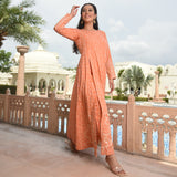 buy kurta online, peach kurta for women,trending kurta set online
