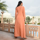 kurta with gota work,orange kurta at best prices
