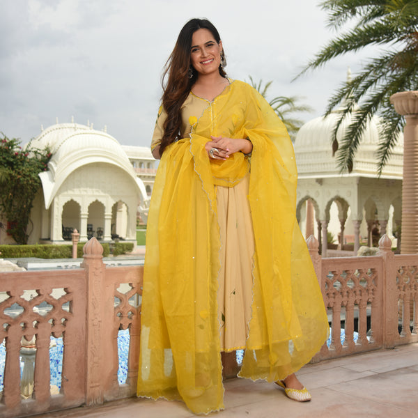 buy yellow suit for women at best prices