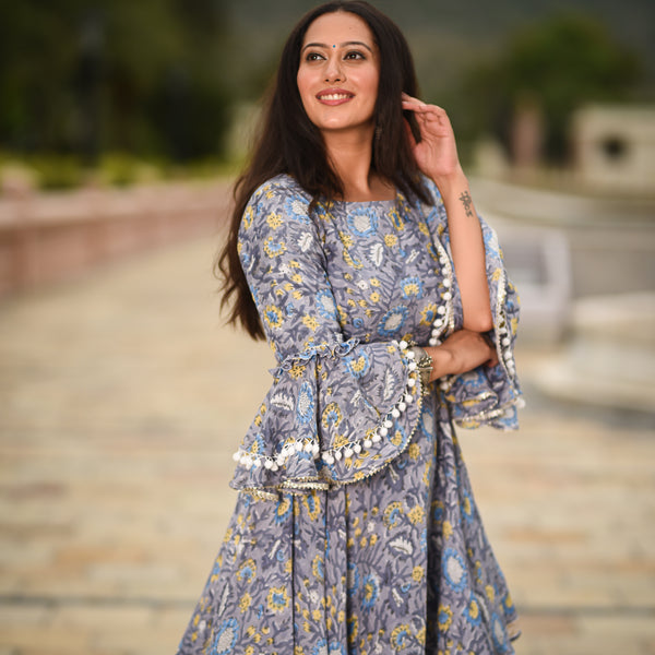 shop printed kurta with palazzo online at best prices