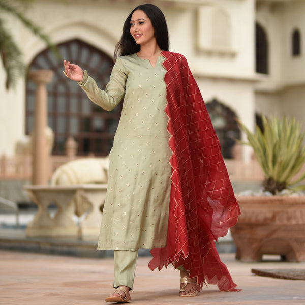 best quality kurta with dupatta,buy kurta set with maroon dupatta online