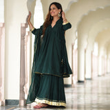green sharara  , buy green sharara  online