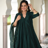 buy green sharara at best prices , best indianwear for women