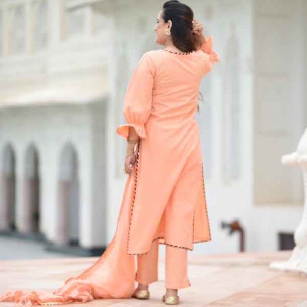 shop peach suit for women online , shop online peach color suit