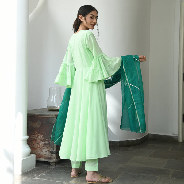 shop amazing quality green suit set online