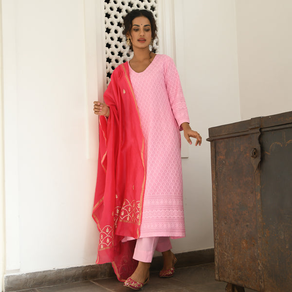 pink suit set with pants , but suit set for women online