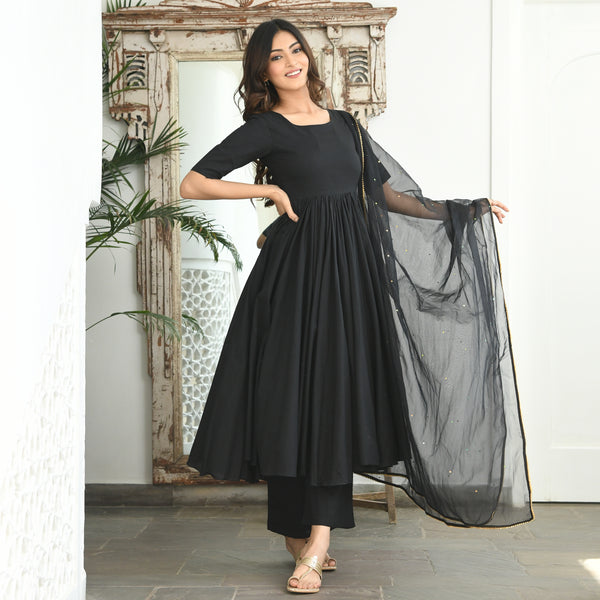 get amazing quality black suit online for women