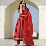 red suit for women,buy online suit  with dupatta