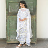 Oorvi Cotton Lace Suit Set