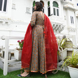 Patan Handblock Cotton Suit