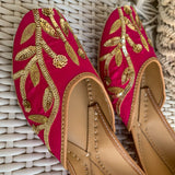Buy juttis for women online pink