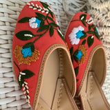 Colorful Juttis for women