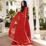 Beauty Red Lehenga Set