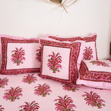 Buy pink cotton bed linens online