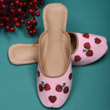 Juttis for women pink