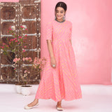 Lahriya Cotton Dress