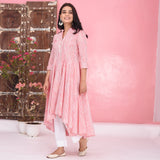Stripes Cotton Kurta Set