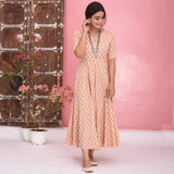 Small Butti Cotton Dress