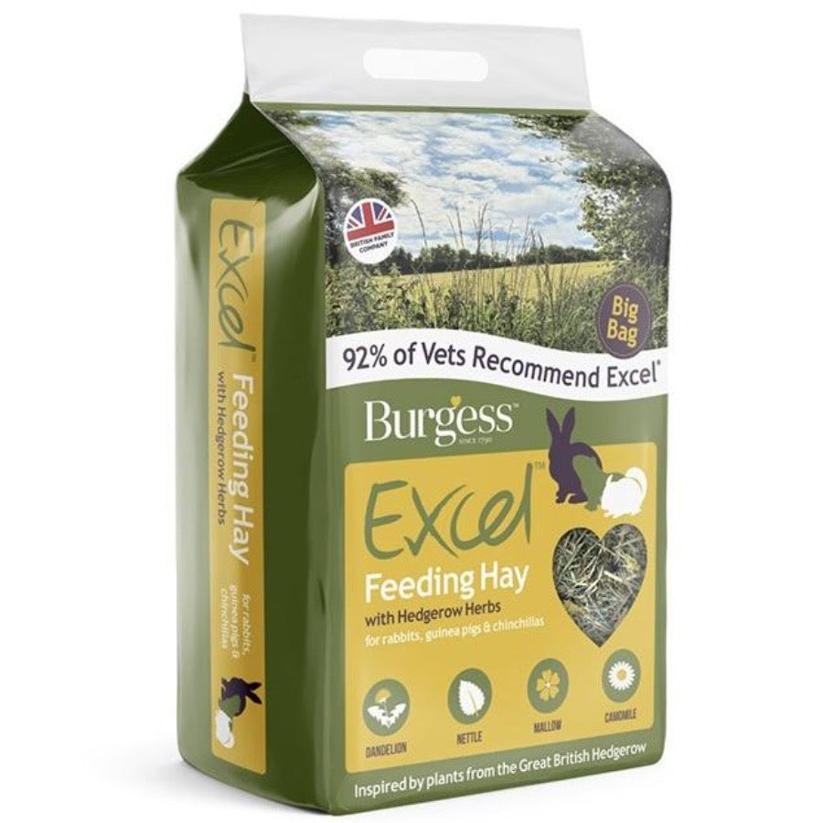 BURGESS EXCEL FEED HAY WITH HEDGEROW