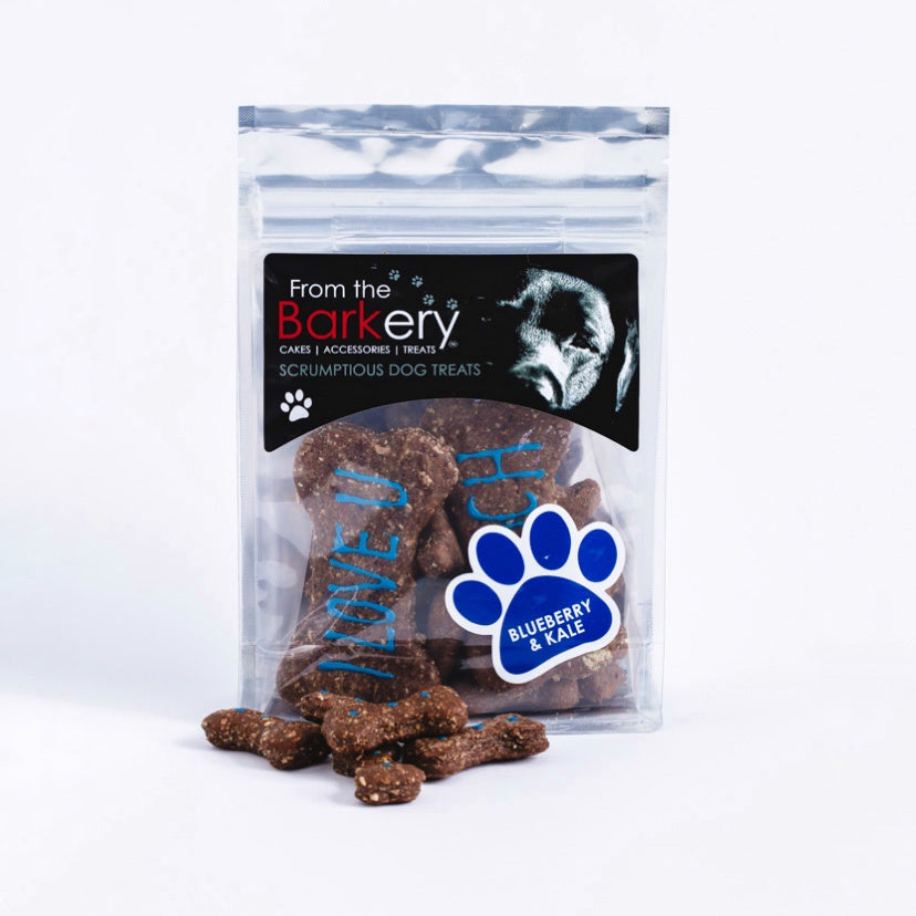 BARKERY BLUEBERRY & KALE BISCUITS