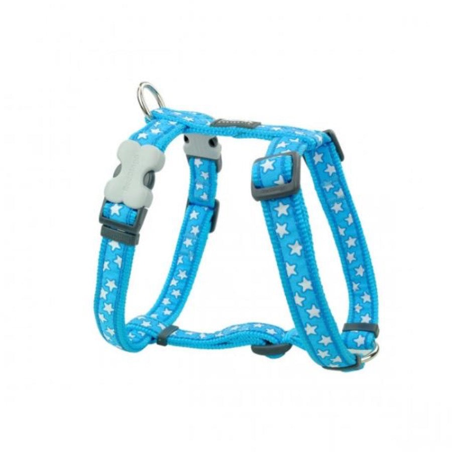 REDDINGO H-HARNESS STAR TURQUOISE