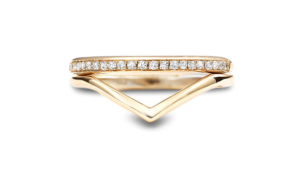 Double stack ring - shiri tam fine jewelry