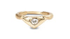 Triangle diamond rings - shiri tam fine jewelry