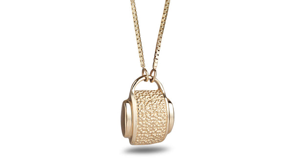 Elegant suitcase necklace - shiri tam fine jewelry