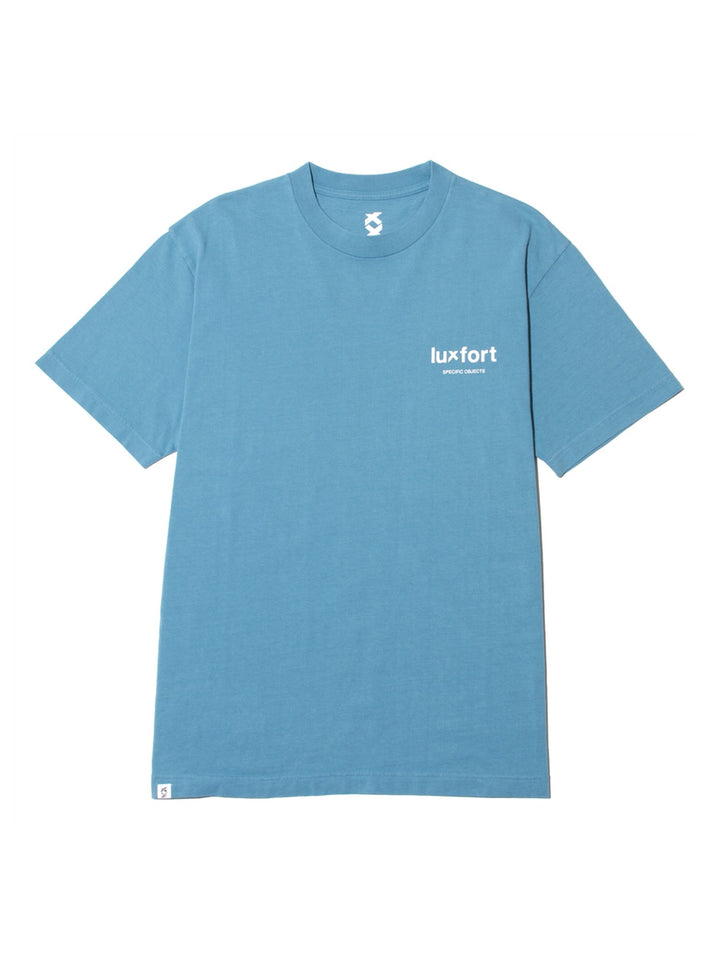 SPECIFIC OBJECTS BASIC TEE - FRESH BLUE