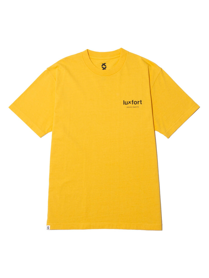 SPECIFIC OBJECTS BASIC TEE - TRUE YELLOW