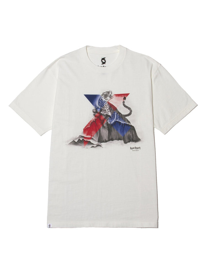 ORIENTAL X TIGER TEE - OFF WHITE