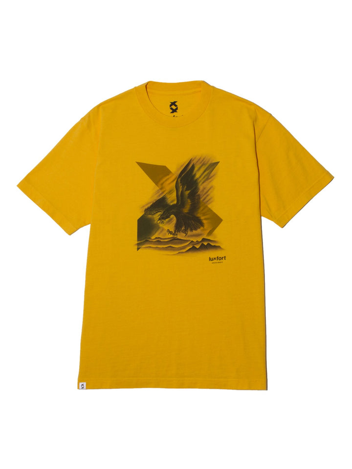 ORIENTAL X EAGEL TEE - REGAL YELLOW