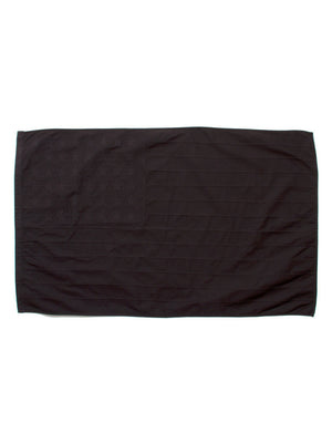OVER DYED FLAG - BLACK