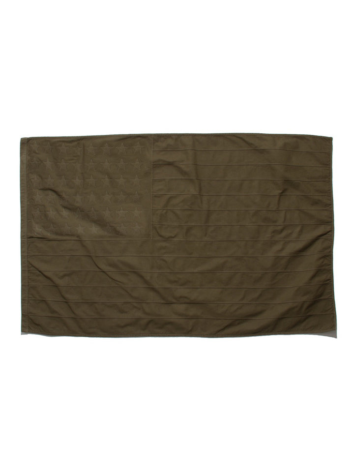 OVER DYED FLAG - OLIVE