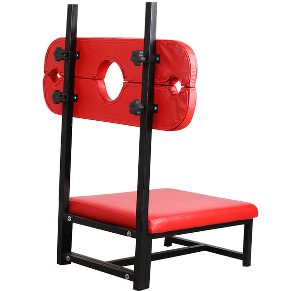 Luxury Sex Chair Dungeon Furniture Adults Games Hand Neck Bondage Restraints Device
