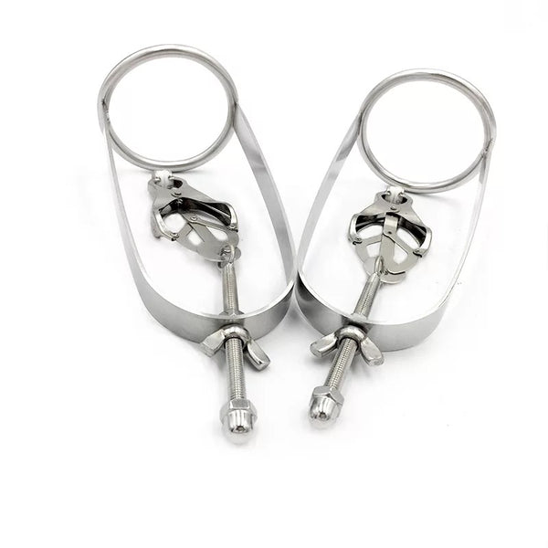 Heavy Duty Stainless Steel Nipple Clamps Torture Clips
