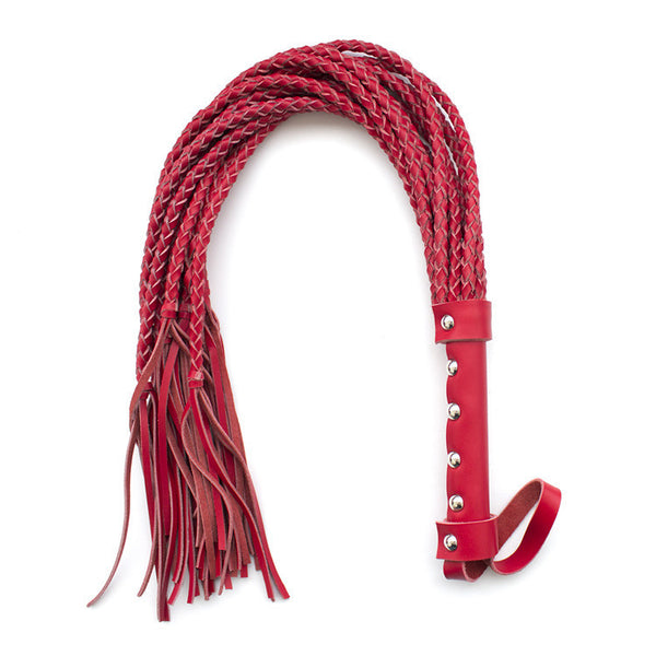 80CM Length Genuine Leather Whip Flogger Ass Spanking Bondage Slave Bdsm Flirting Toys