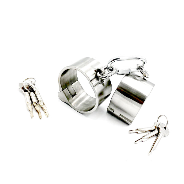 4CM Height Thin Style Stainless Steel Handcuffs