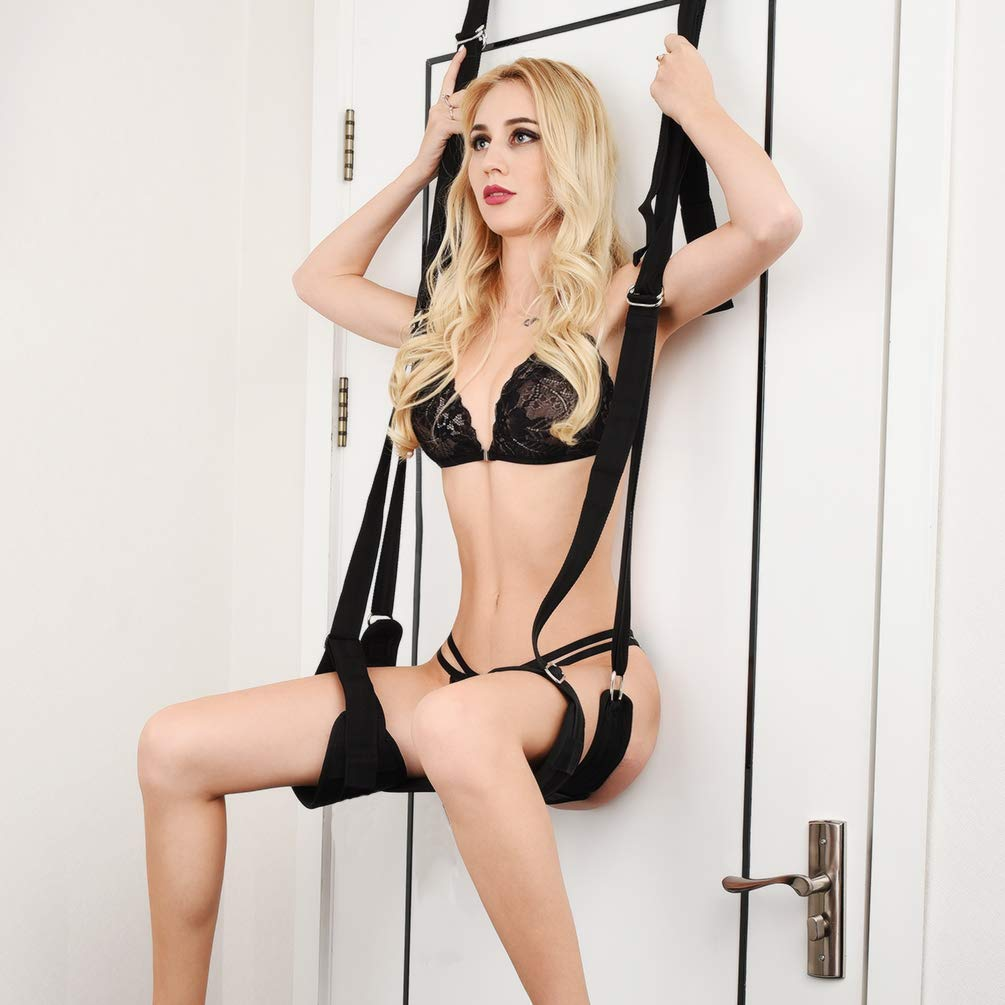 Sex Swing Hanging On Door Bondage Restraints Sex Toy for SM Games Playing