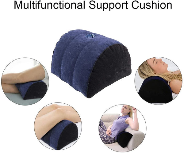 Half Moon Pillow Adult Toy Mount For Coupe Sex Women G Spot Position Cushion Multifunctional Inflatable Support Pillow